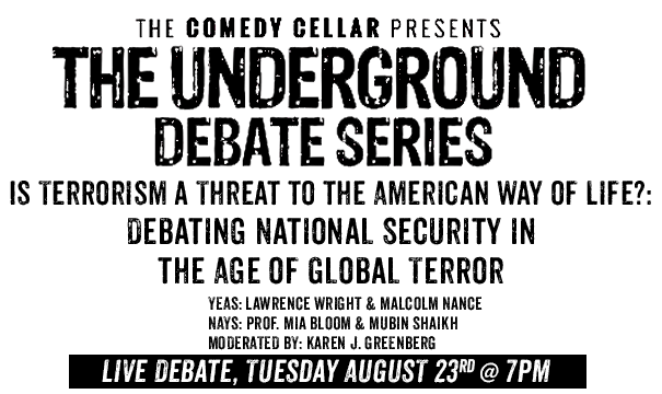 Live Debate - August 23rd, 2016 at 7pm