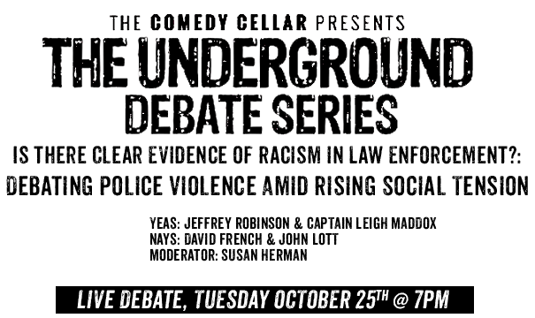 Live Debate - September 4th, 2016 at 7pm