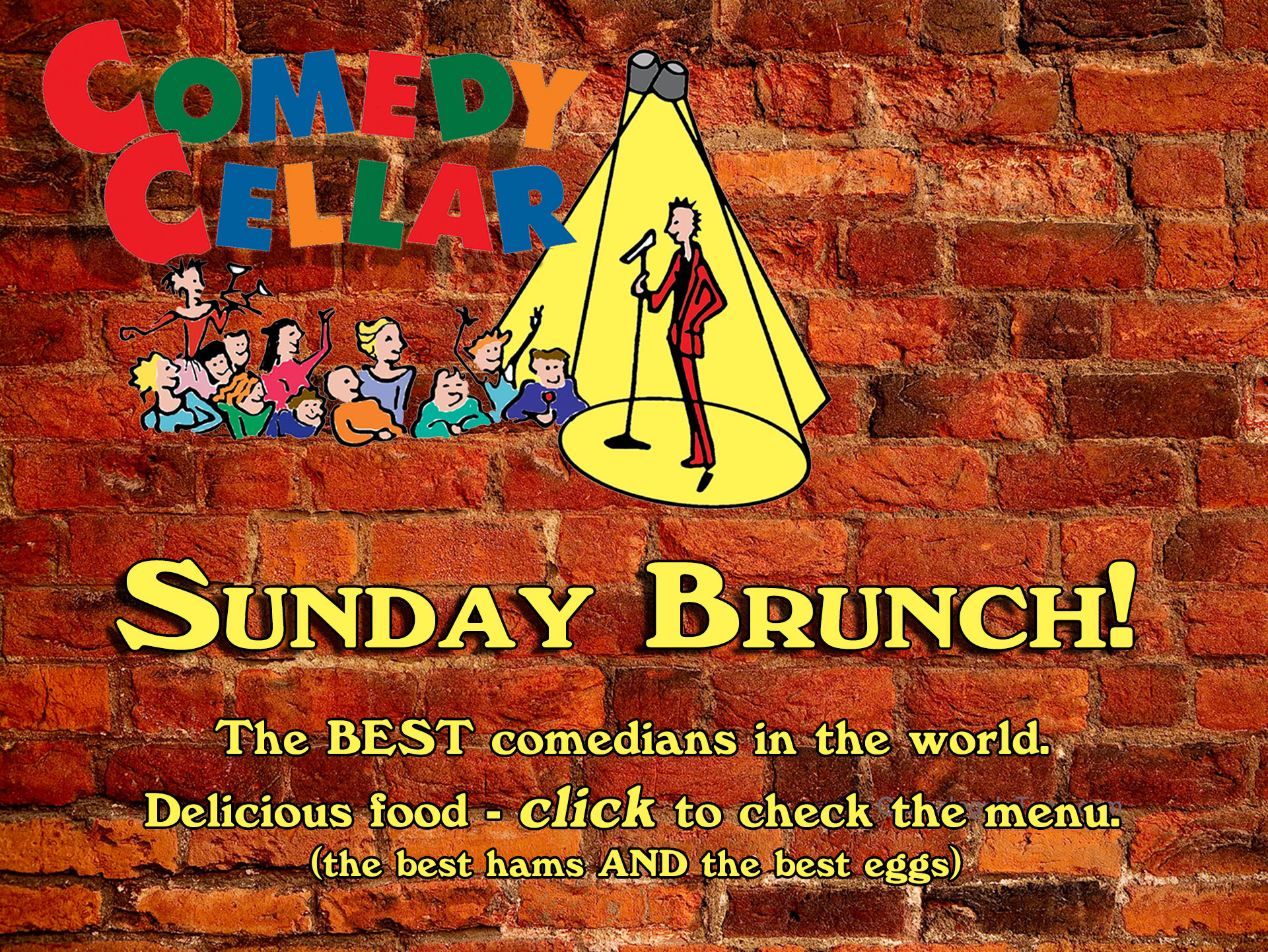 comedy-brunch